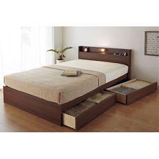 便利な機能を備えたお手頃価格の充実ベッド。