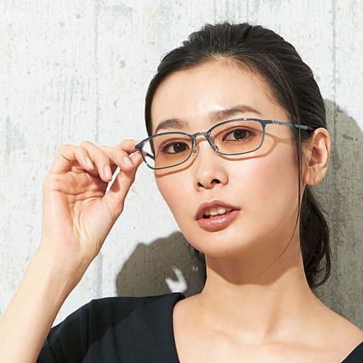 軽量柔軟サングラス(スクエア)<美活計画>