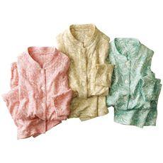 綿100%ふんわりニットキルトパジャマ(日本製)