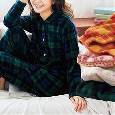 フリースシャツパジャマ