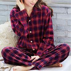 シャツパジャマ(綿100%・男女兼用)