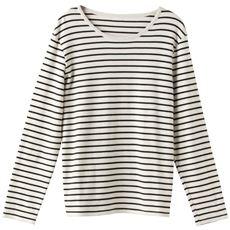 あったかシンプルTシャツ(S~5L・綿100%・蓄熱保温)
