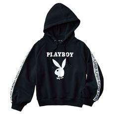 裏起毛パーカー(PLAYBOY bunny)
