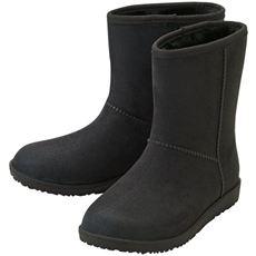 スエード調 晴雨兼用ブーツ