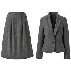 スカートスーツ(洗濯機OK)