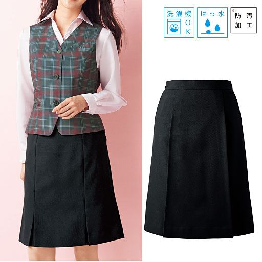スカート(洗濯機OK、撥水、防汚加工)(事務服)