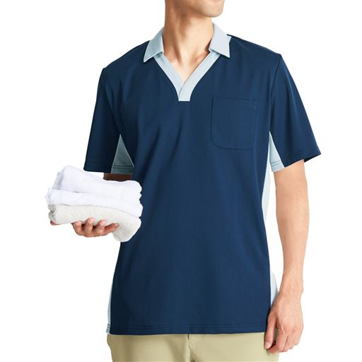 ポロシャツ(男女兼用・SS~4L・吸汗速乾・抗菌防臭・静電防止)