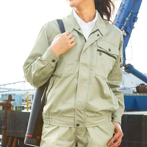 作業用ブルゾン(男女兼用・SS~5L・静電防止)