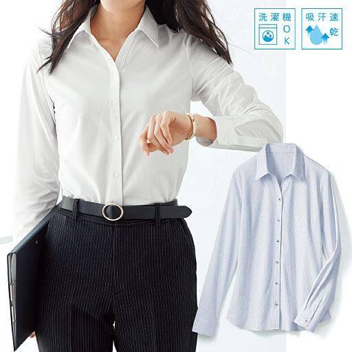 カットソーベルカラーシャツ(吸汗速乾)