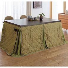 毛布素材のハイタイプ用省スペースこたつ掛け布団