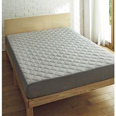 綿スマートヒートパッド一体型ベッドシーツ