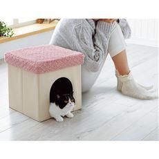 スツール型ペットハウス
