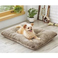 ペットのふっくらごろ寝クッション【ふかふか】【あったか気持ちいい】【毛が引っ掛かりにくい】【洗える】犬・猫対応