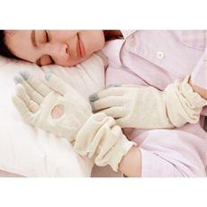 シルク混 潤いロング手袋(1双)