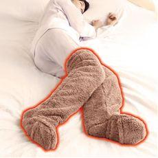 極暖 足が出せるロングカバー(1足)