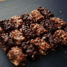 チアシードと玄米パフのローカボチョコクランチ