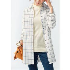 ビエラチュニックシャツ(綿100%)