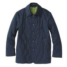 ストレッチ・中綿キルトジャケット(温かさと軽さを両立させた「エアコンダウン」)