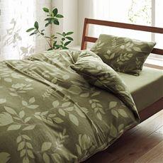 フリース生地の枕カバー