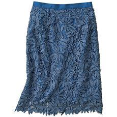 ケミカルレースタイトスカート