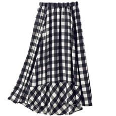 フィッシュテールフレアスカート