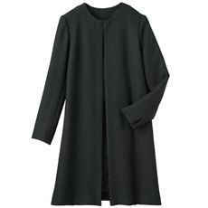 ノーカラーロングジャケット(フォーマル・卒業式・入学式)