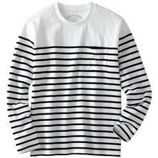 感動の肌触り!やわらかオーガニックコットンTシャツ(長袖)