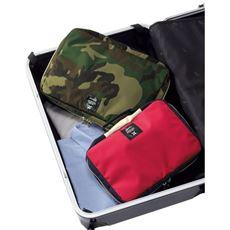 【anello®】スーツケースのごちゃごちゃを解決!旅の荷物の小分けに便利なトラベルボックス