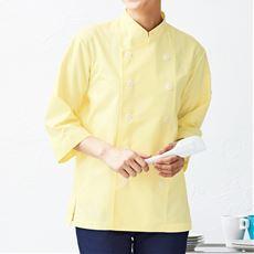 調理ダブルシャツ(7分袖)(男女兼用・抗菌防臭)