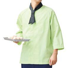 調理比翼シャツ(7分袖)(男女兼用・抗菌防臭)