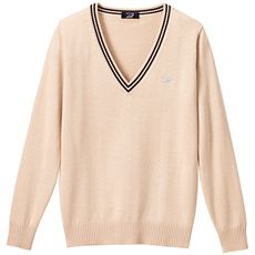 LIZ LISA doll ライン入りVネックニットセーター(スクール・制服)