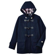 LIZ LISA doll フード裏まで可愛いダッフルコート(スクール・制服)