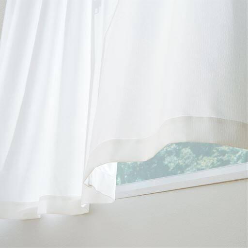 防汚と花粉キャッチの2タイプの機能から選べる、紫外線を94%カット!遮熱ミラーレースカーテン。