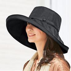 [セシールオリジナル]激売れ!5万7千個(※)突破!21機能の小顔見せUV帽子♪