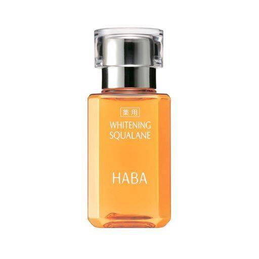 【ハーバー(HABA)】有効成分ビタミンC誘導体配合(※)美白ケアのためのスクワラン(※メラニン生成を抑え、日焼けによるシミ・そばかすを防ぎます。)