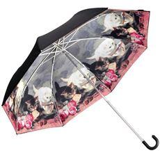お洒落な2重折りたたみ傘