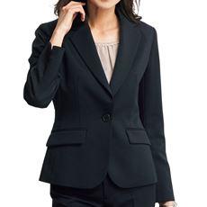 着丈が選べるスーツテーラードジャケット(事務服・洗濯機OK)