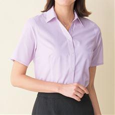形態安定2枚組ベルカラーシャツ(半袖)