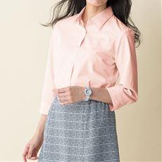 形態安定レギュラーシャツ(7分袖)(UVカット・抗菌防臭)