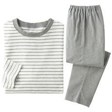 綿100%Tタイプパジャマ(男女兼用)