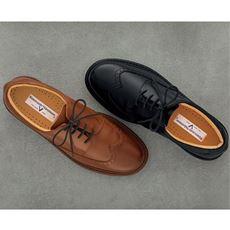ウィングチップシューズ(リネスカンテ・バレンティアーノ)日本製・本革のクォリティー靴をビジネスのパートナーに!
