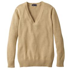 年間使いやすい綿100% Vネックニットセーター(スクール・制服)