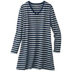 VネックTシャツ(長袖)(L~10L)