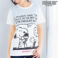 コットン100% 半袖Tシャツ(SNOOPY)