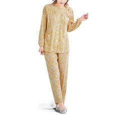 前開きパジャマ(綿100%・日本製)