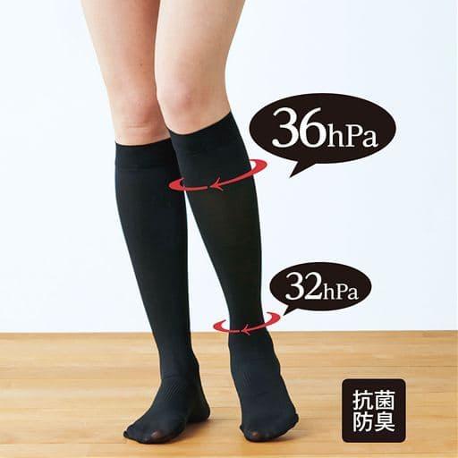 靴下タイプのショート着圧。強めのシェイプ感がお好みならコレ