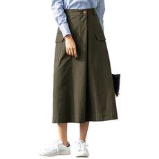 ラップ風タックチノスカート