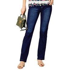 サラッとした肌触りが夏に嬉しい!デニムのように見えてデニムじゃない、大人気のスマートニットジーンズ。すっきりした細めシルエットで脚をきれいに見せるストレートパンツ。
