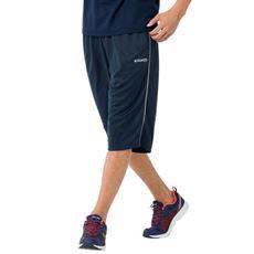 【Kaepa®】夏のウォーキングやエクササイズに!汗をサッと吸ってドライに保つ、吸汗・速乾メッシュ素材の6分丈パンツ