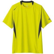 【K・SWISS】吸汗・速乾で汗をかいてもサラリと快適!シャープな切り替えデザインが映えるドライTシャツ